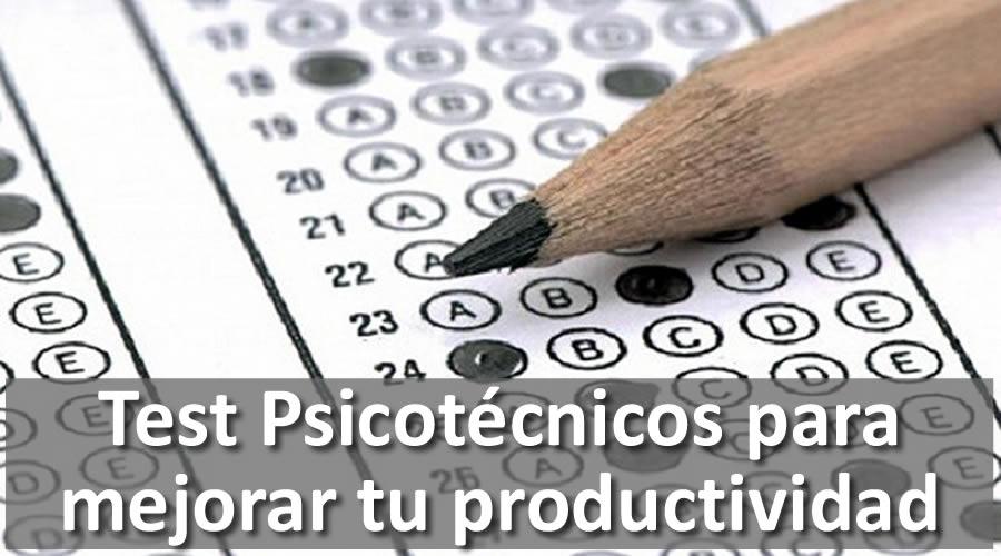 Mejora tu productividad resolviendo test psicotécnicos